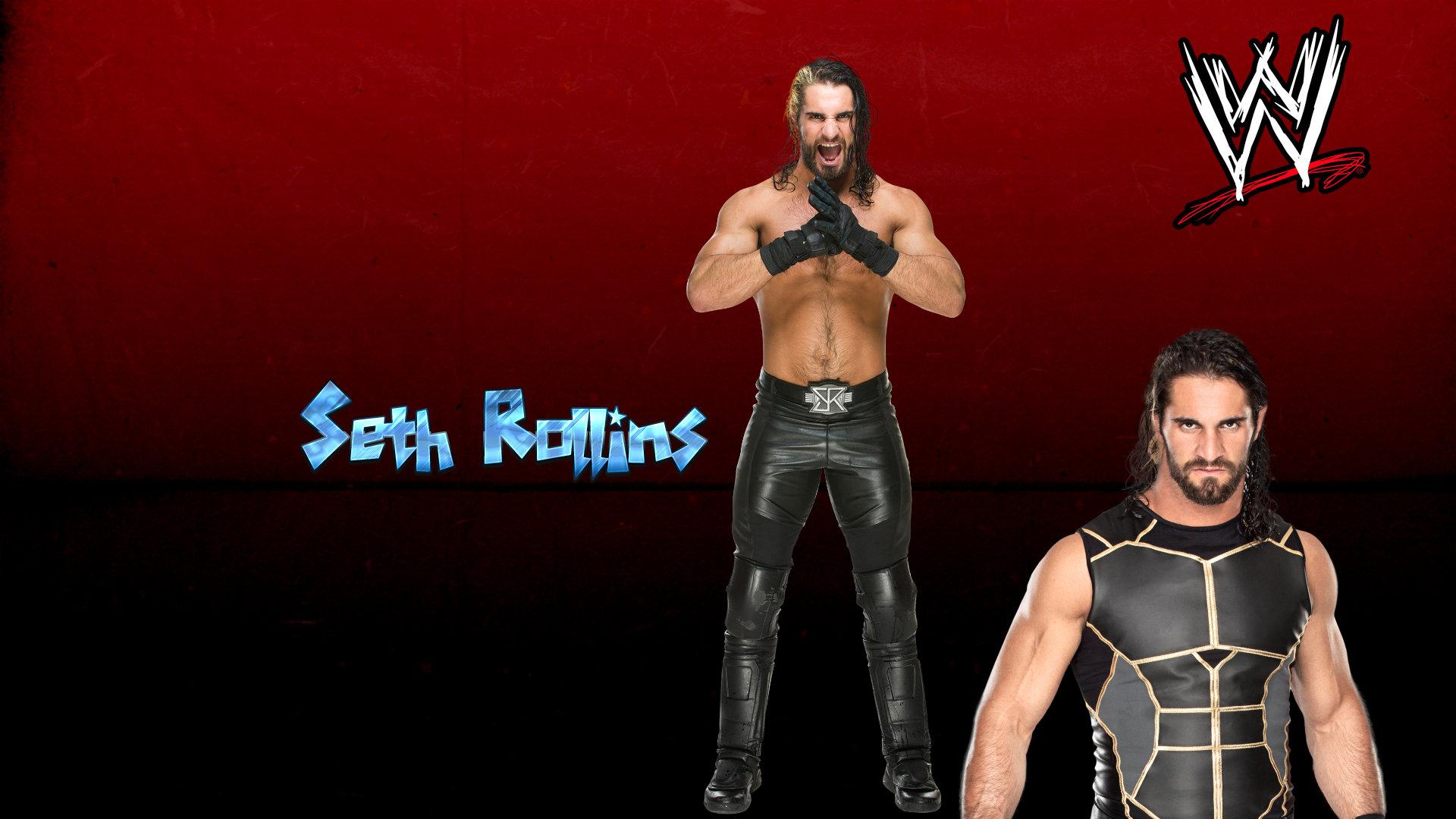 WWE Superstar Wrestler Seth Rollins HD Wallpapers 2016 1920x1080