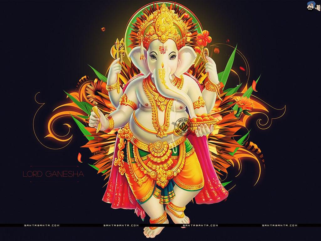 Pictures of lord ganesha wallpapers wallpapersafari - Shri ganesh hd photo ...