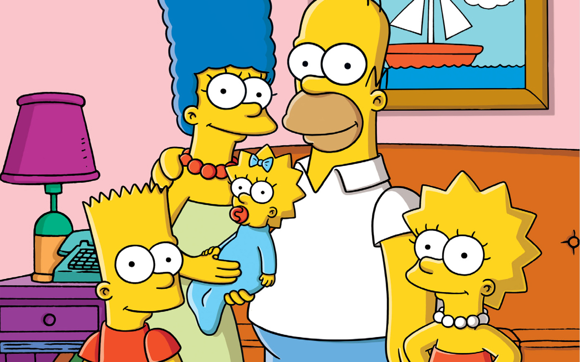 Last Exit To Springfield Simpsons Wallpaper 1920x1200