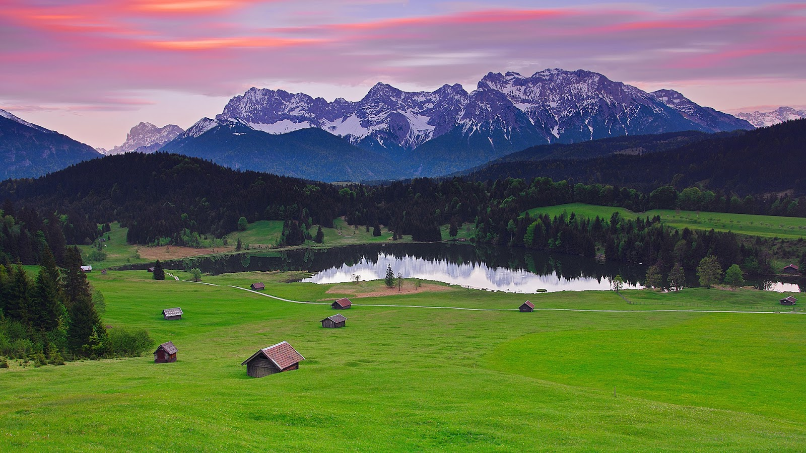 HD WALLPAPERS   DESKTOP WALLPAPERS Landscape Apls in Germany 1600x900
