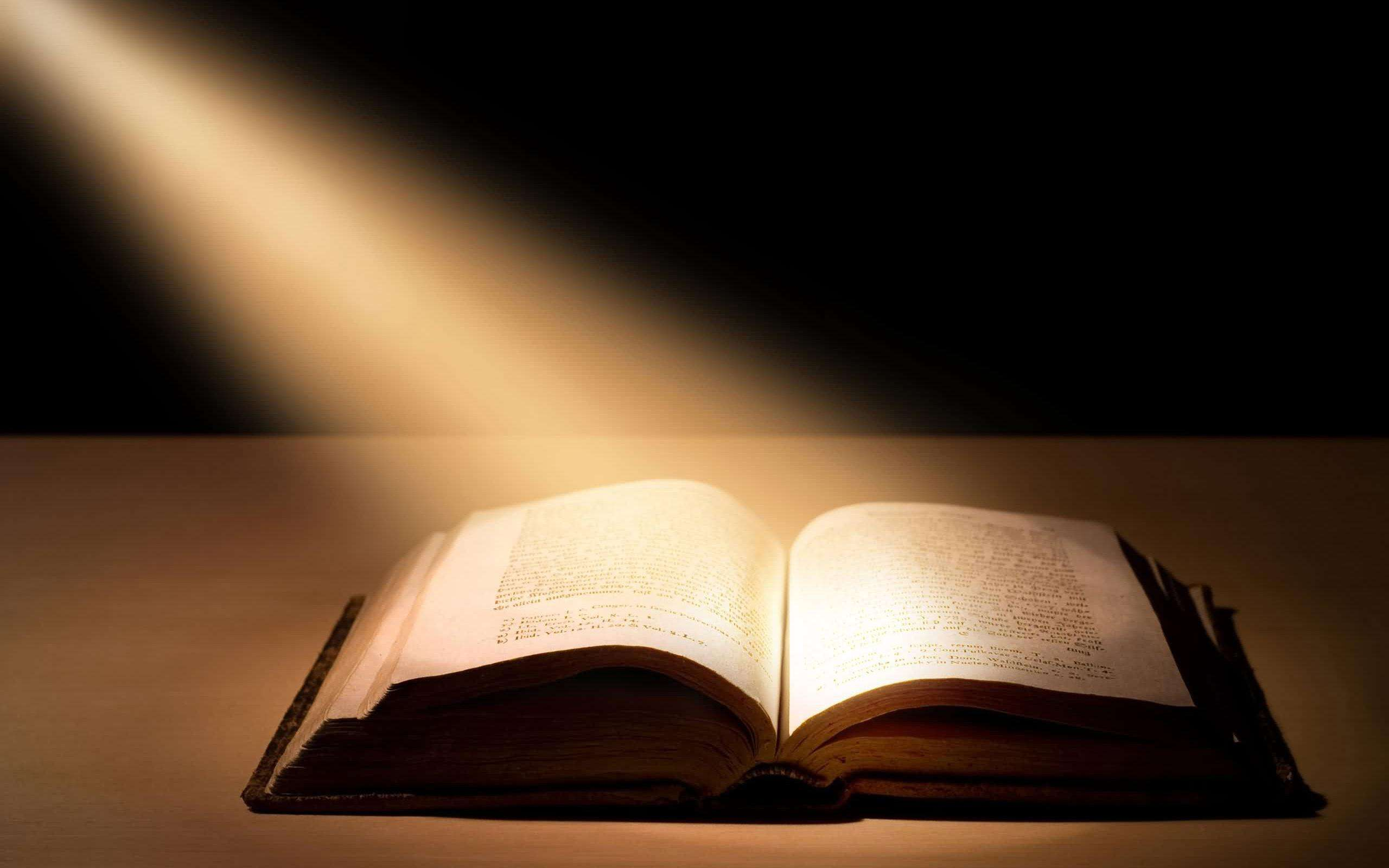 wallpapers religious christian bible light book abstract 2560x1600