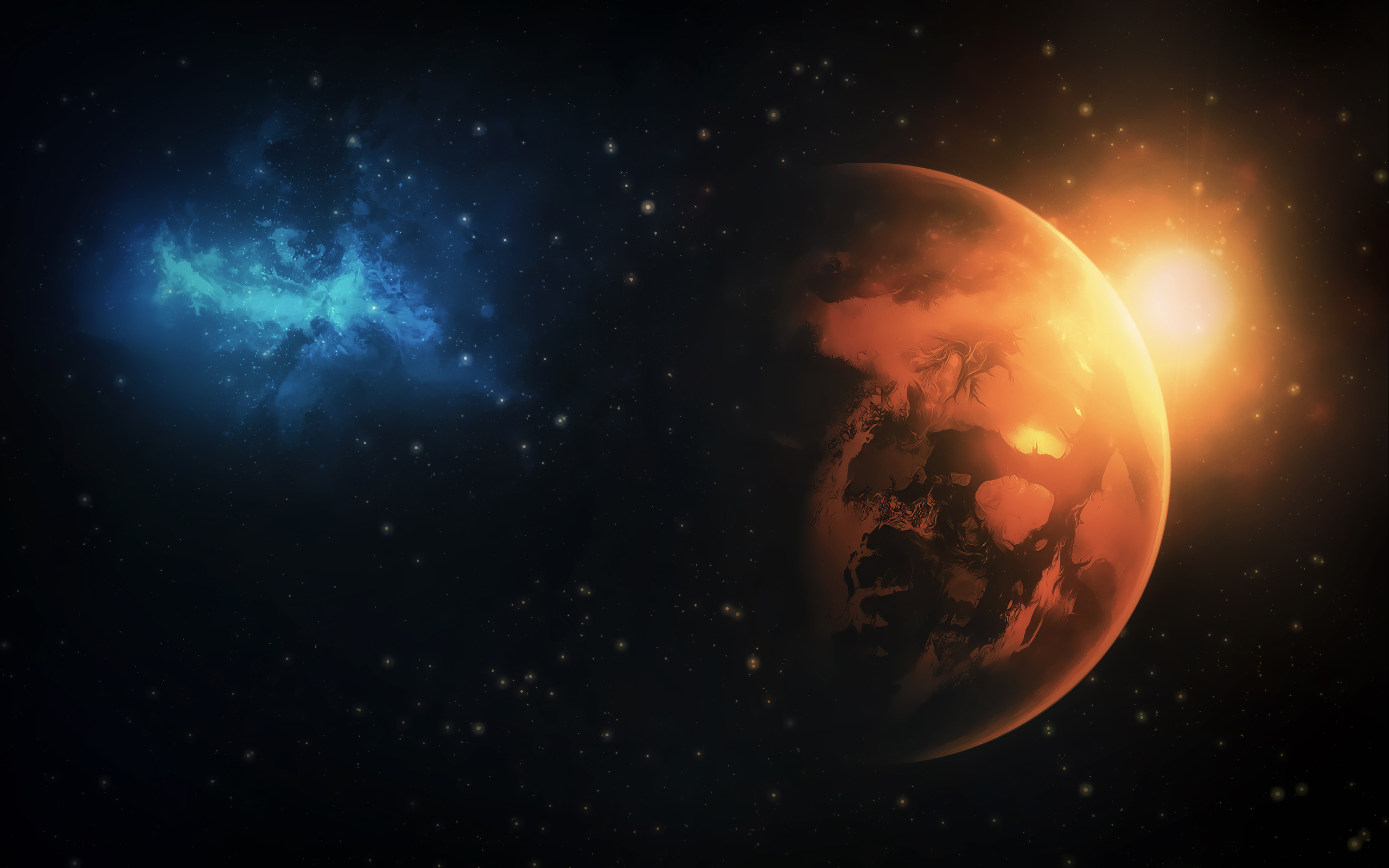Planet Galaxy Wallpapers HD Wallpapers 2560x1600