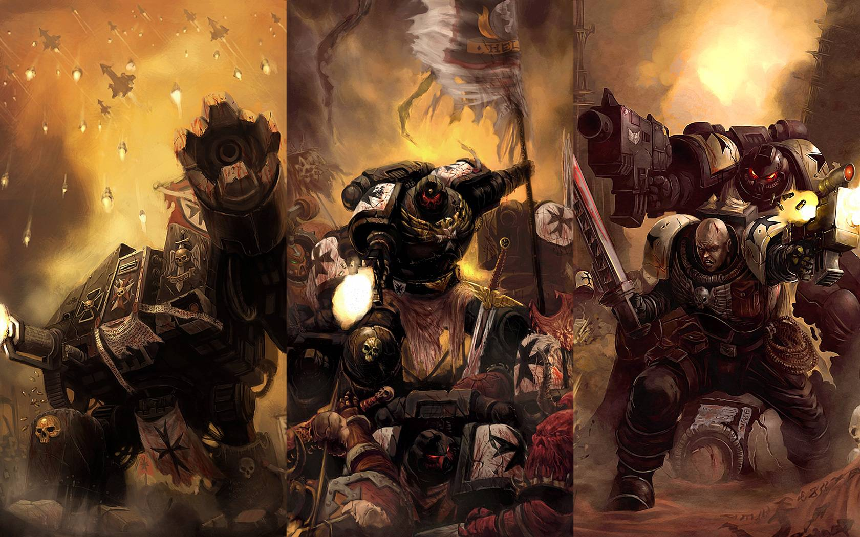 Warhammer 40k wallpaper [2] HQ WALLPAPER   23035 1680x1050
