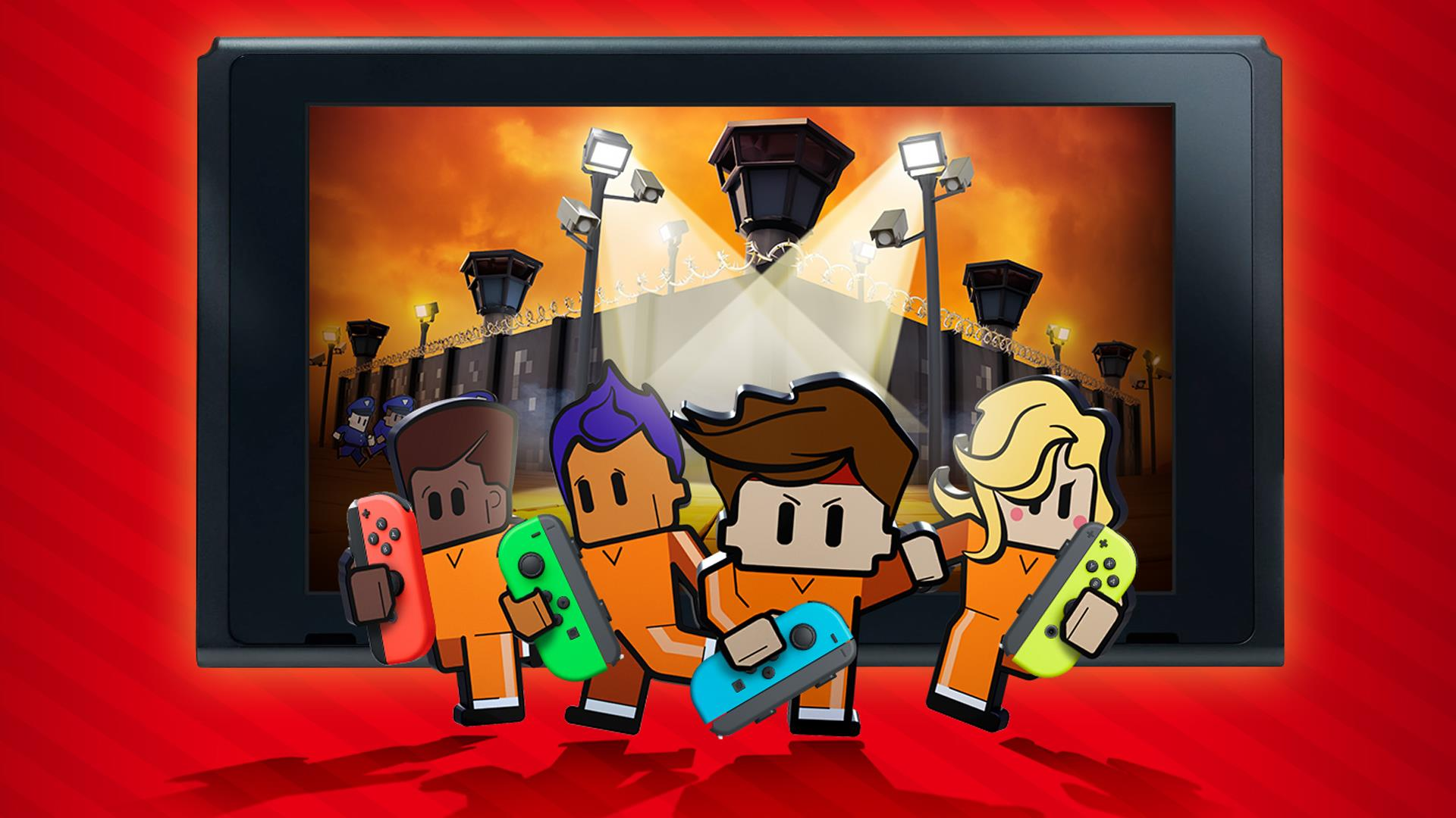 The Escapists 2 updated on Nintendo Switch   Team17 Group PLC 1920x1080