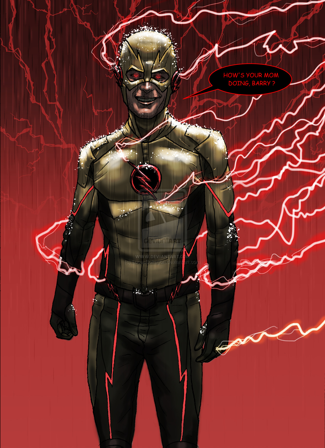 CW Reverse Flash UPDATE 10 10 2014 by LucasBoltagon 1280x1760