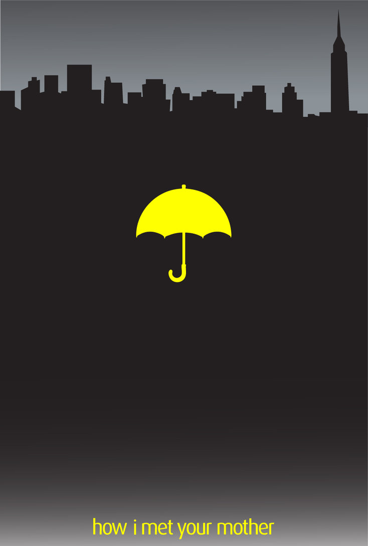Free Download Himym Yellow Umbrella By Nerdcadet 734x1089 For