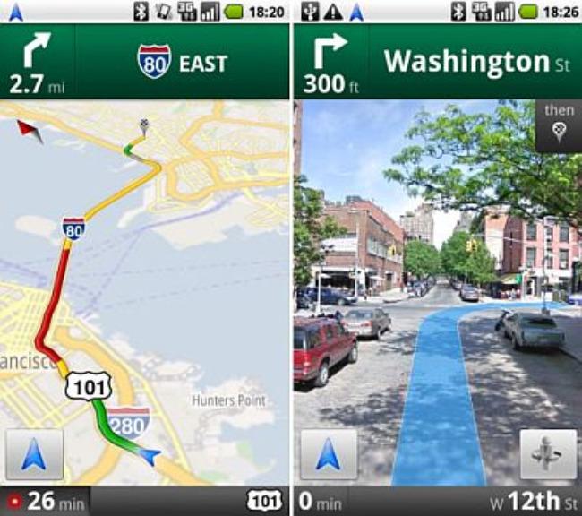 Google Live Wallpaper: Google Maps Wallpaper