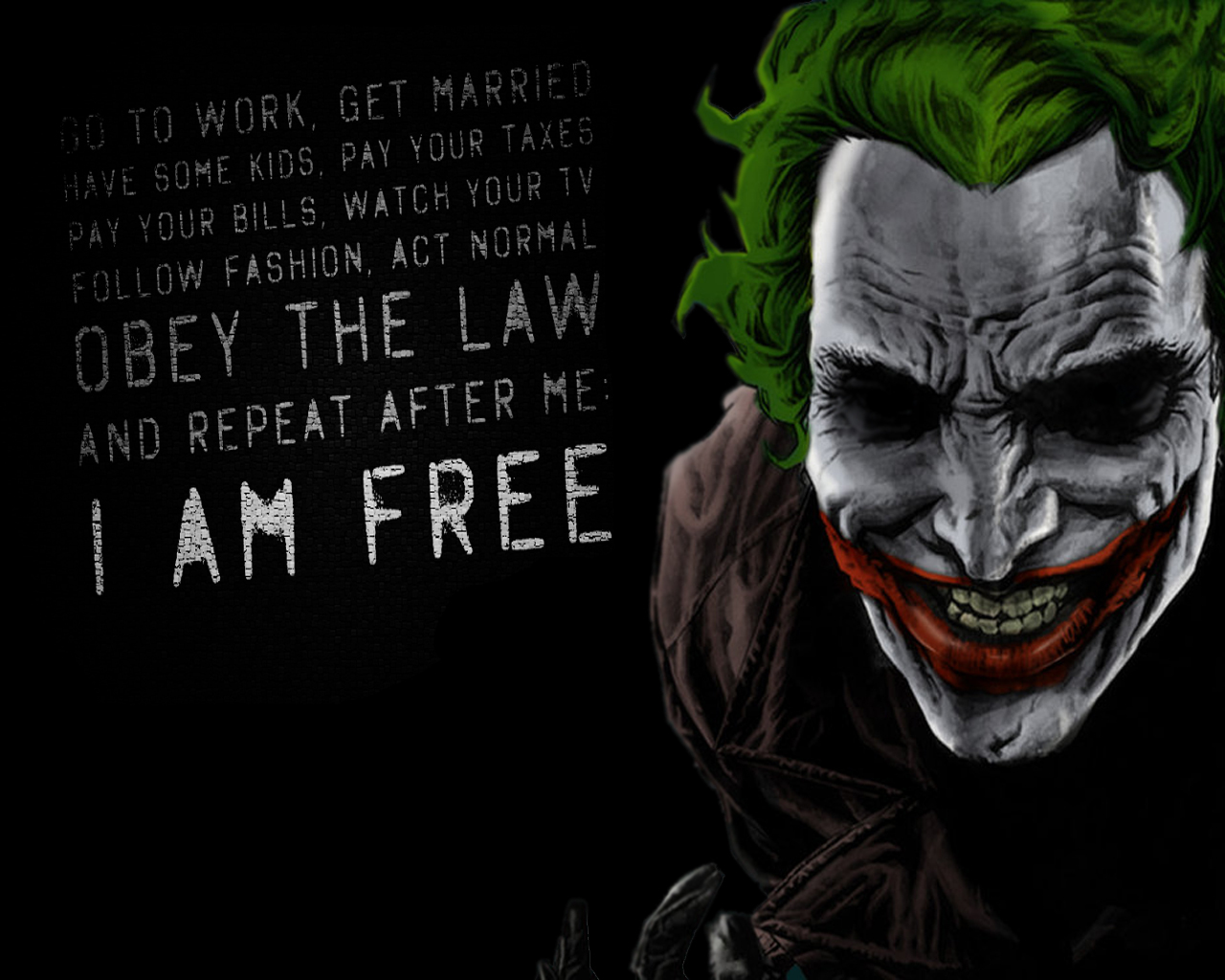 Joker Quotes Comics QuotesGram 1280x1024