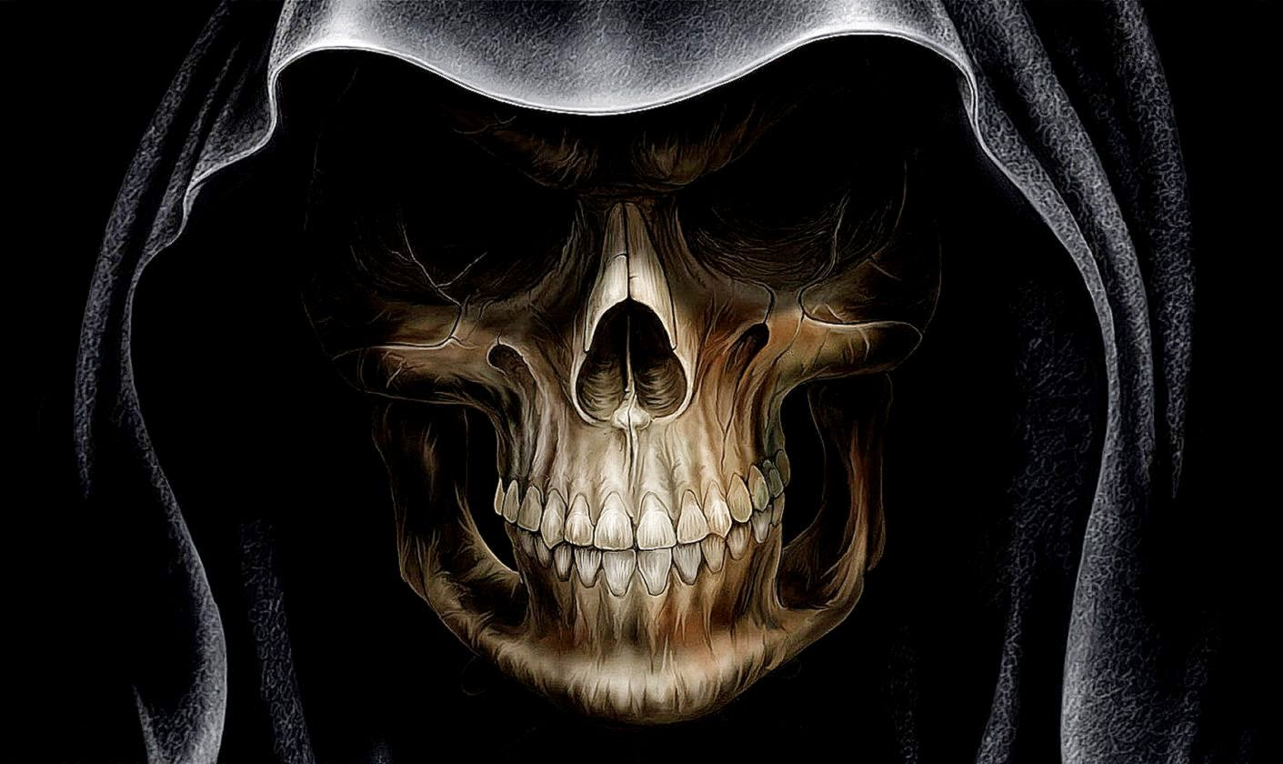 49 moving skull wallpapers hd on wallpapersafari - Skeleton wallpaper ...