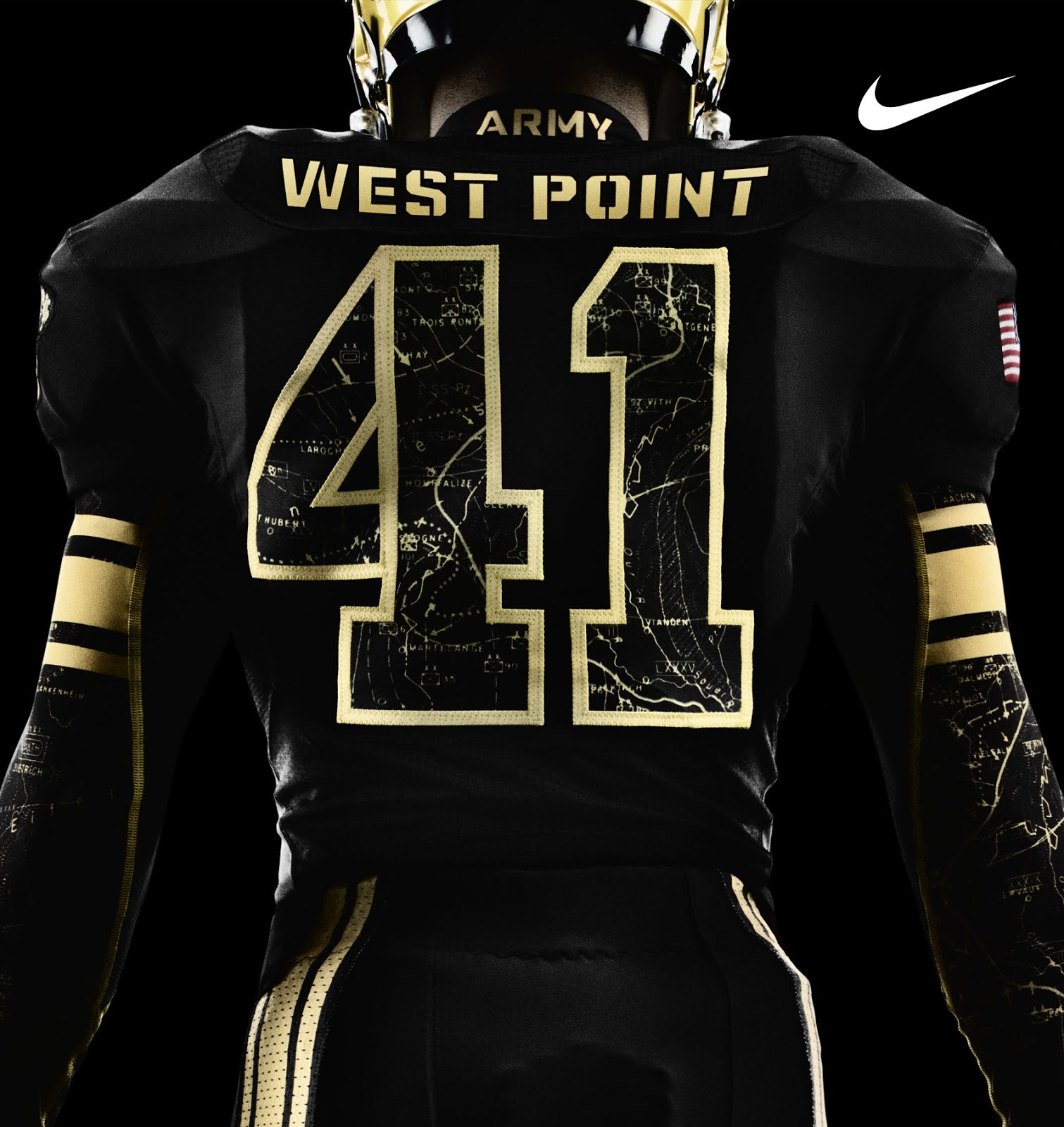 The just revealed Army and Navy football uniforms by Nike have some 1511x1600