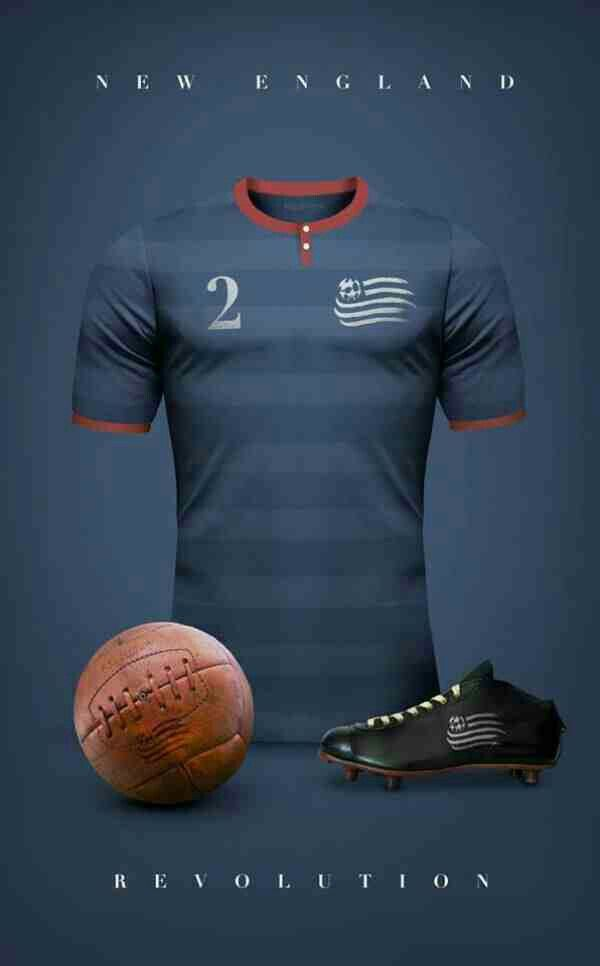 New England Revolution of USA wallpaper Sports Soccer shirts 600x966