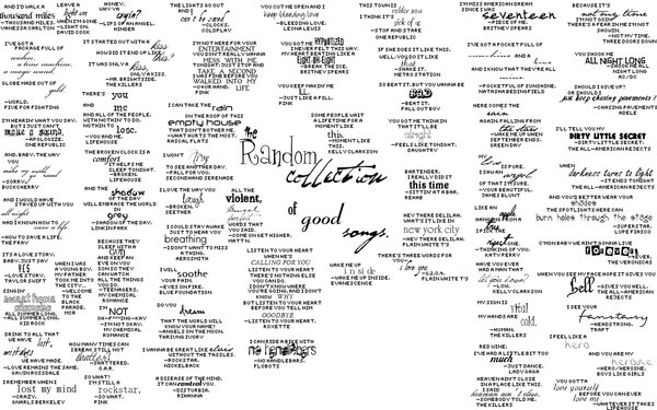 Song Lyrics wallpaper by Golden Dreams 600x375