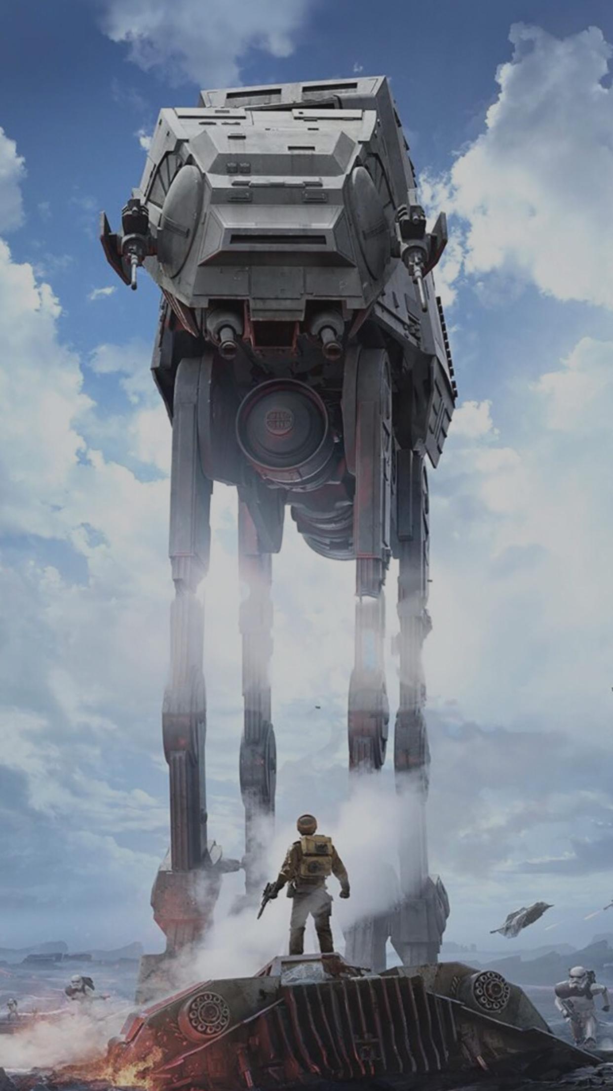 Star Wars Ios Wallpaper Wallpapersafari
