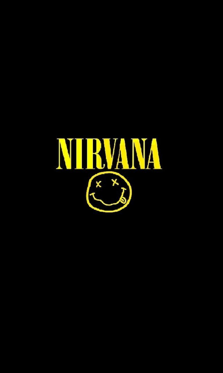 Nirvana Smiley Face Wallpaper Wallpapersafari