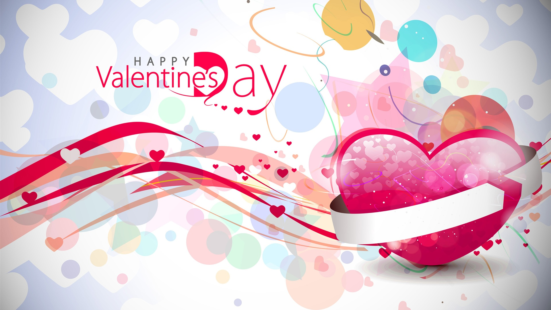 Pink Valentine s Day Wallpaper 1920x1080 1920x1080