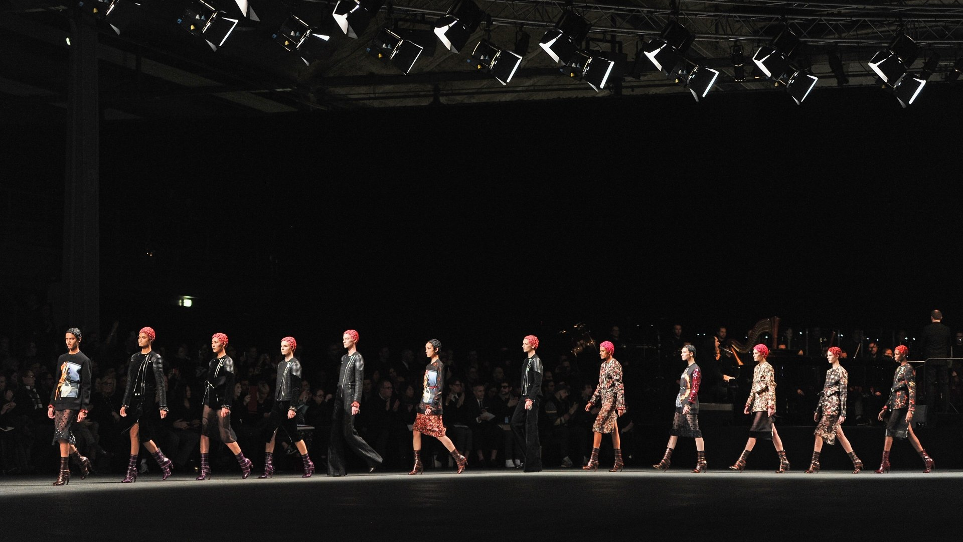 download Givenchy fashion show wallpapers and images 1920x1080