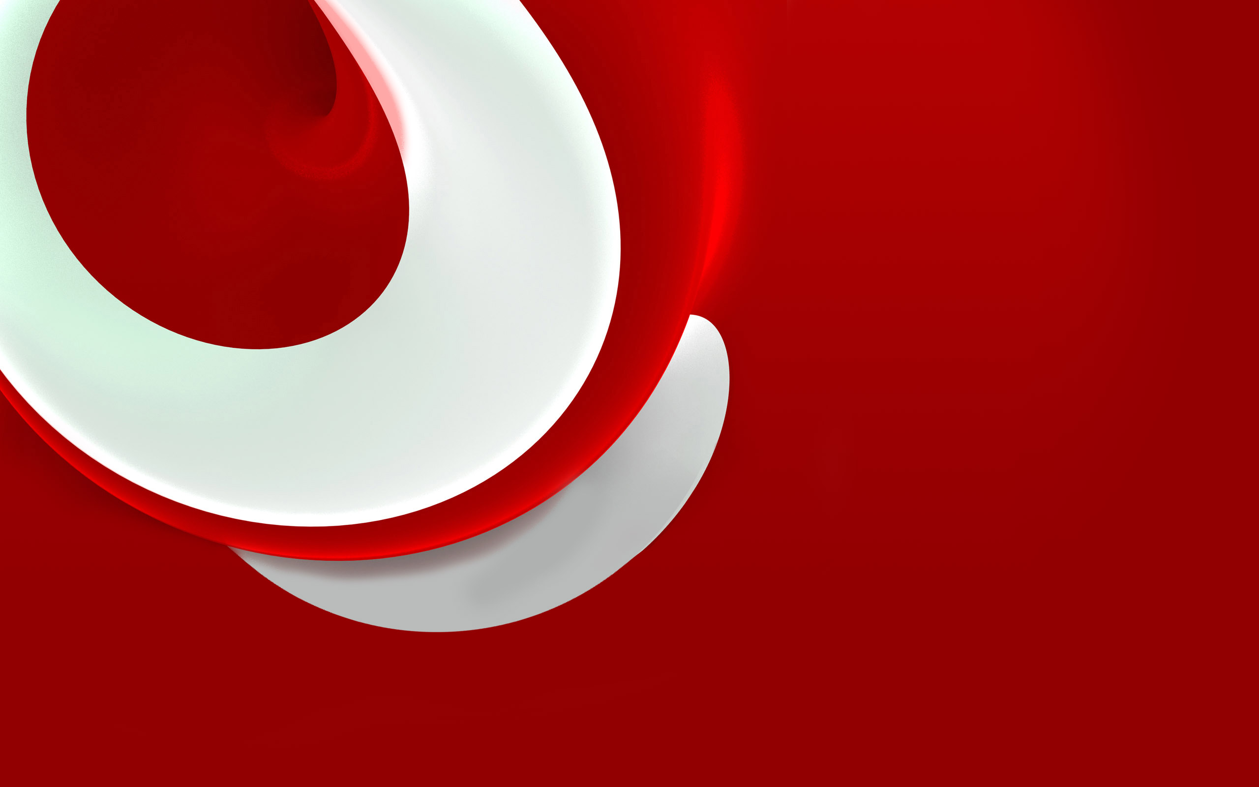 Red Wallpaper Photos White And 2560x1600