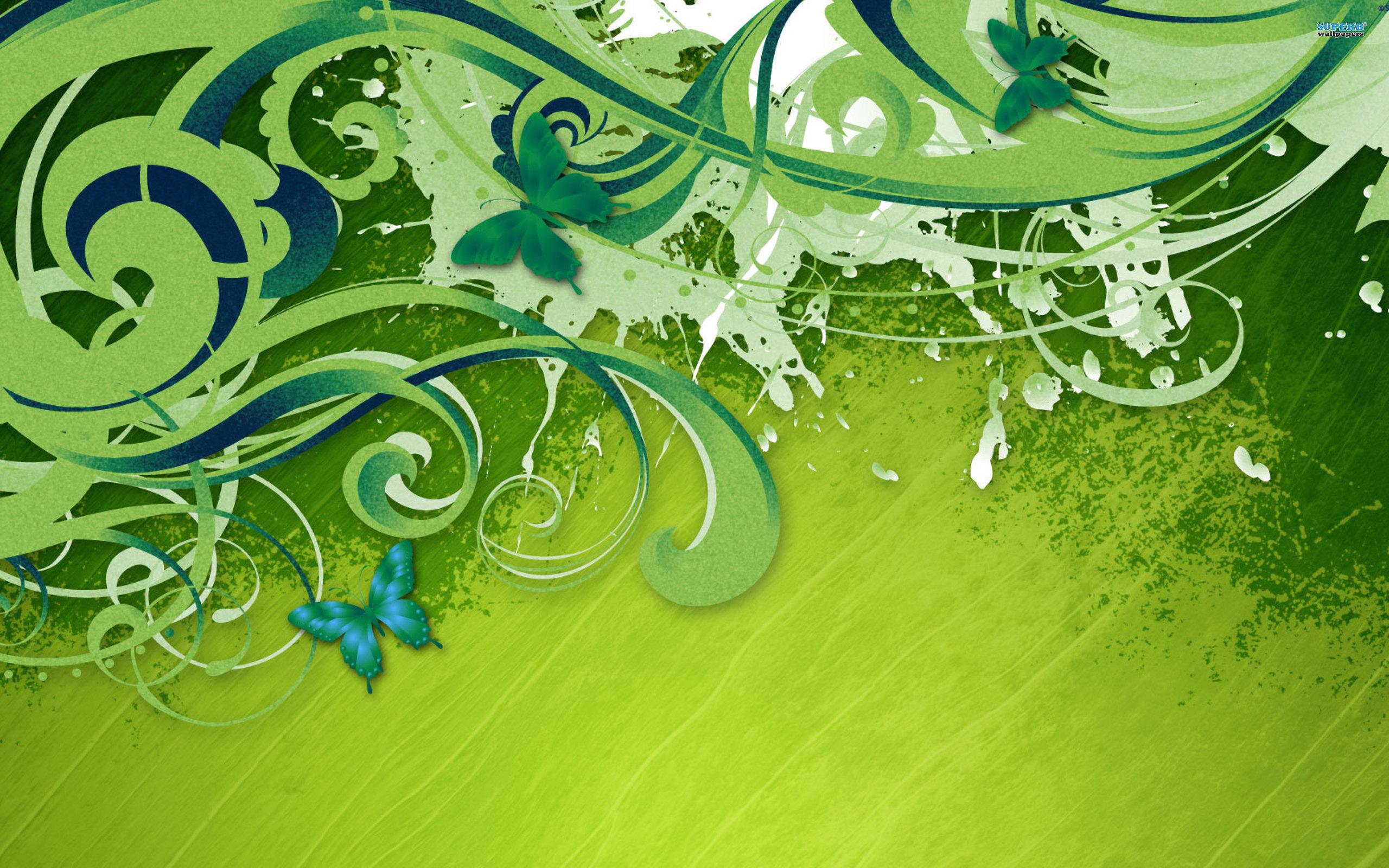 Vector Butterfly Wallpaper Download 2560x1600