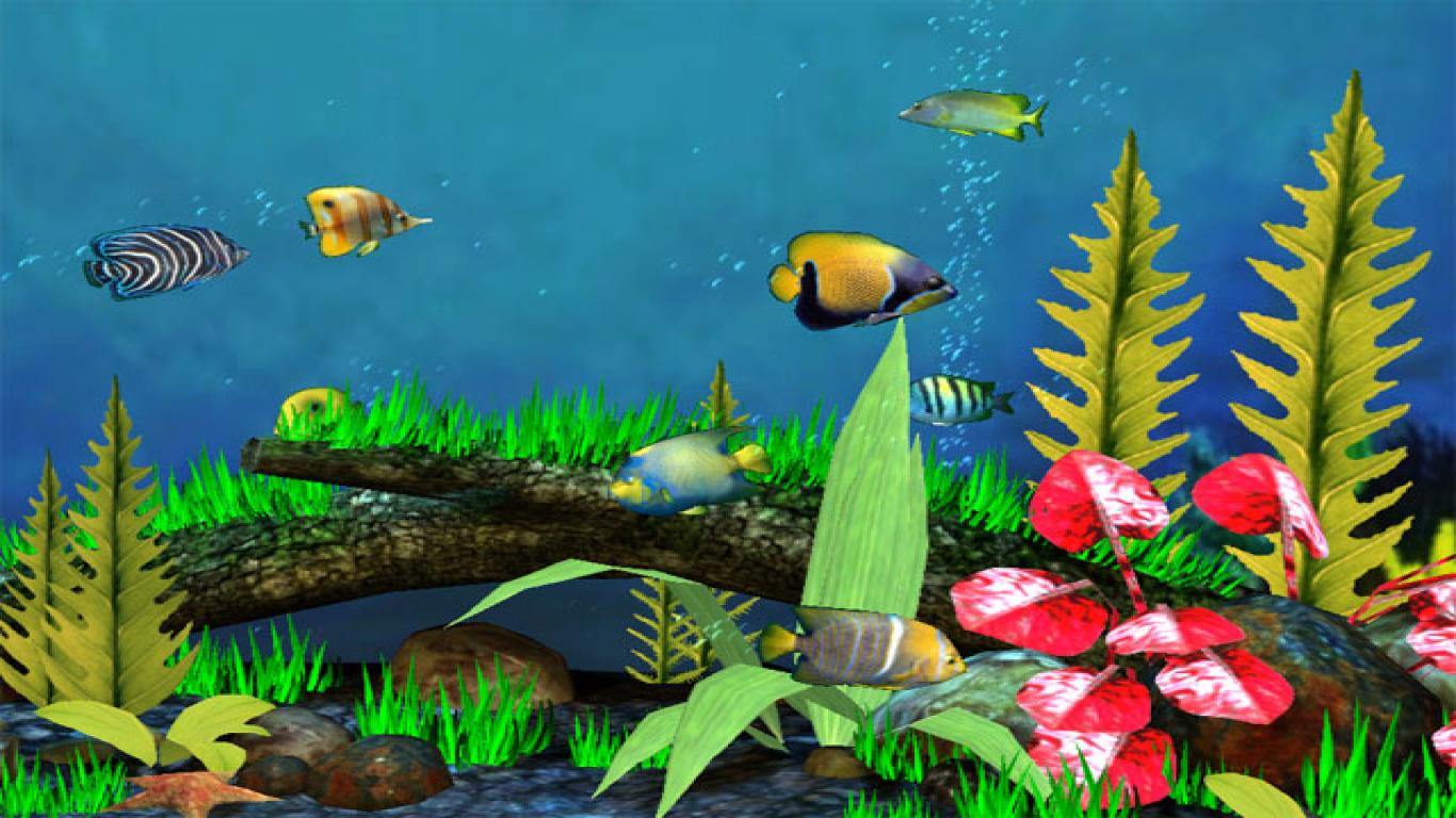 free aquarium live wallpaper for windows 7