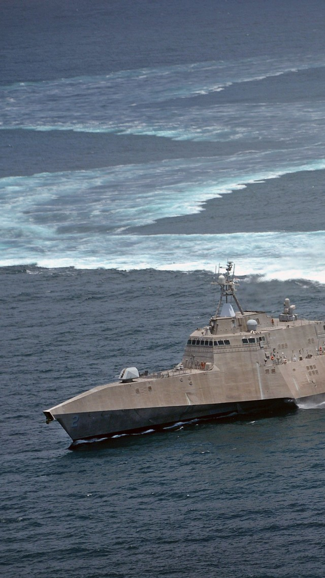 USS Independence Wallpaper Military USS Independence lead ship LCS 640x1138