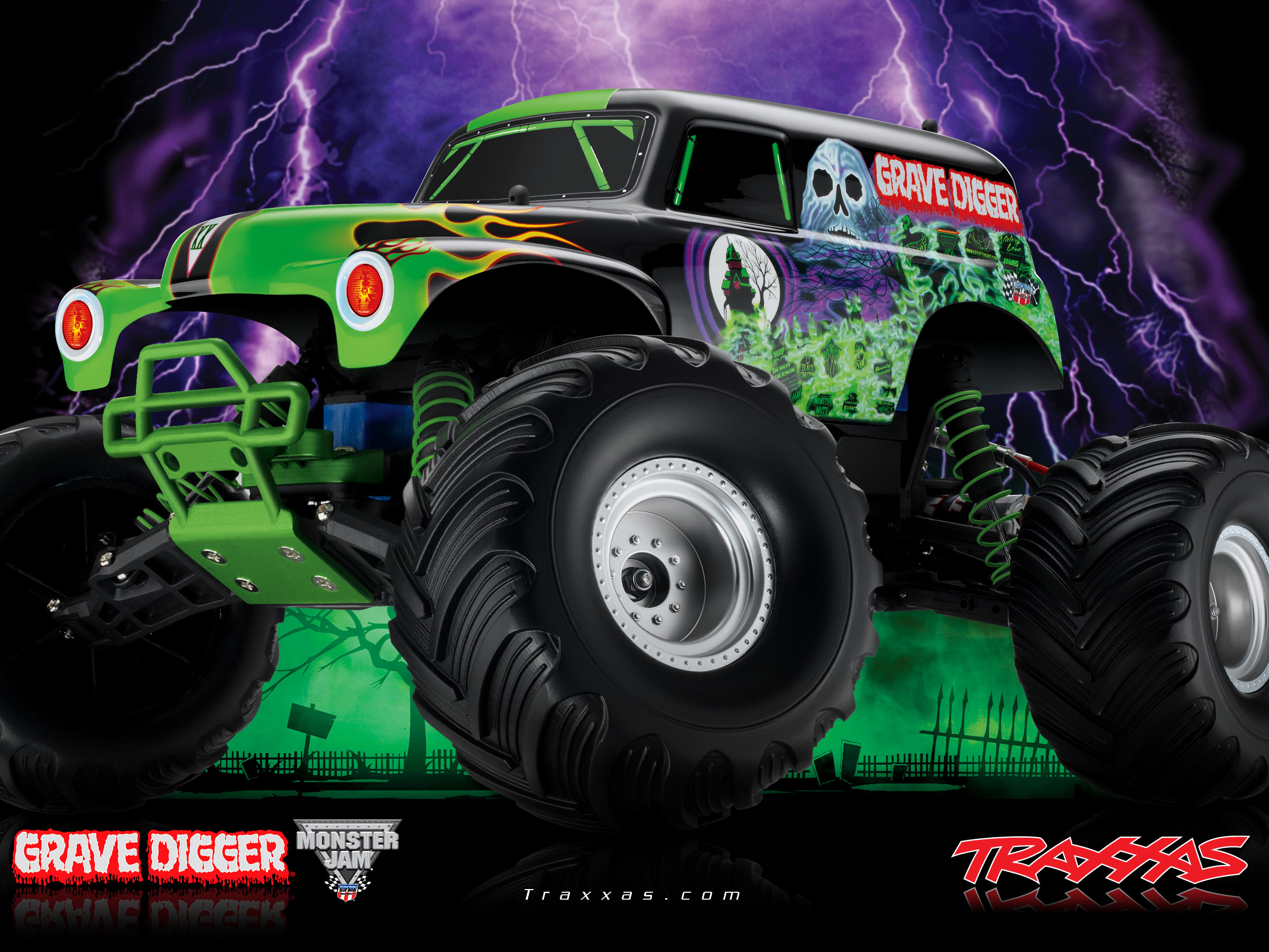 45 Grave Digger Monster Truck Wallpaper On Wallpapersafari