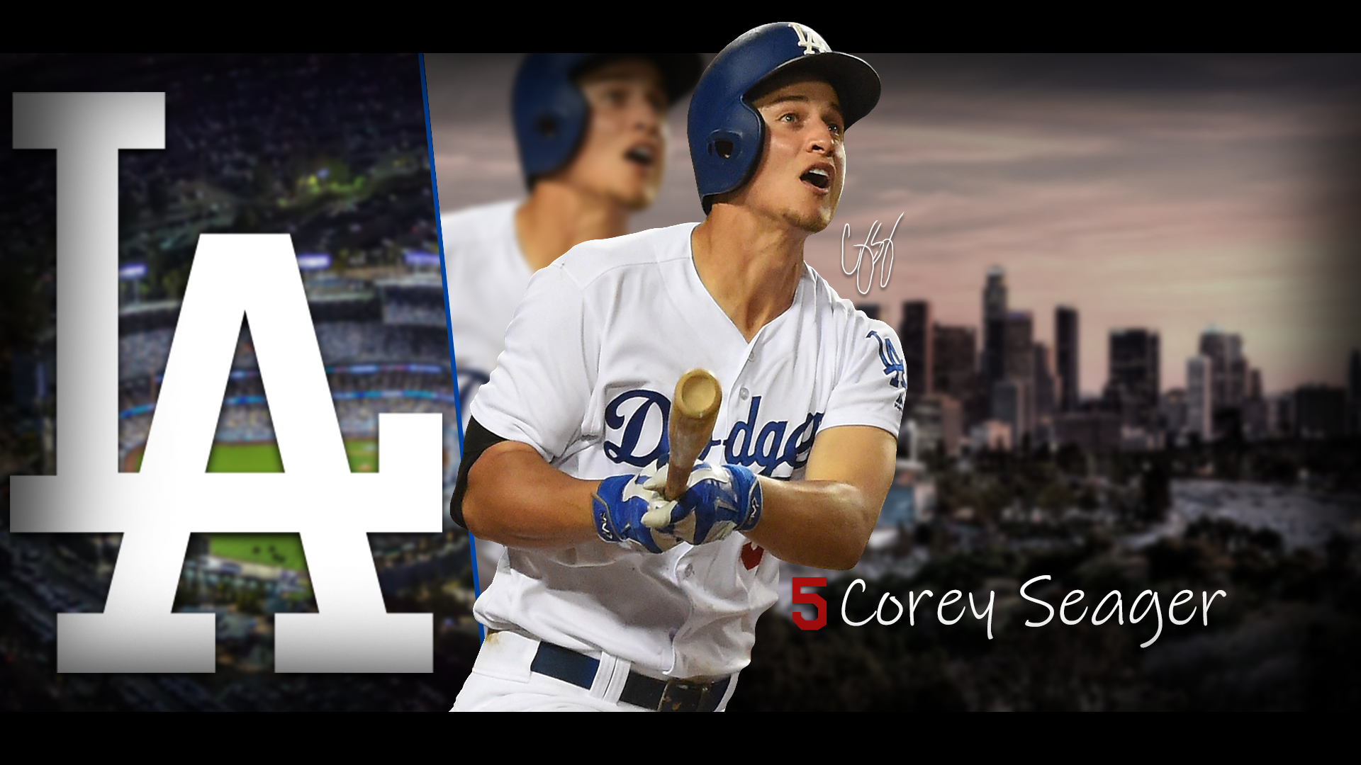 Corey Seager Picture for the fans Enjoy Dodgers 1920x1080