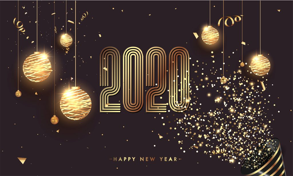 Best 4K Happy New Year 2020 Wallpapers Images TechBeasts 1024x615