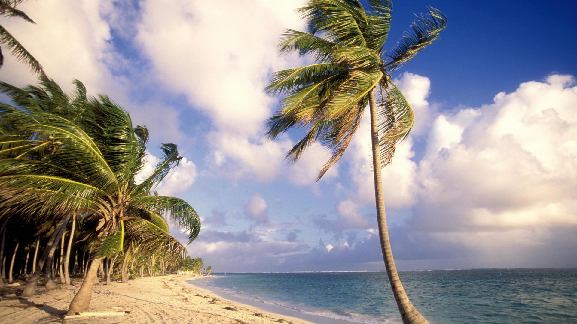 backgrounds desktop republic wallpaper punta beach dominican 1920x1080