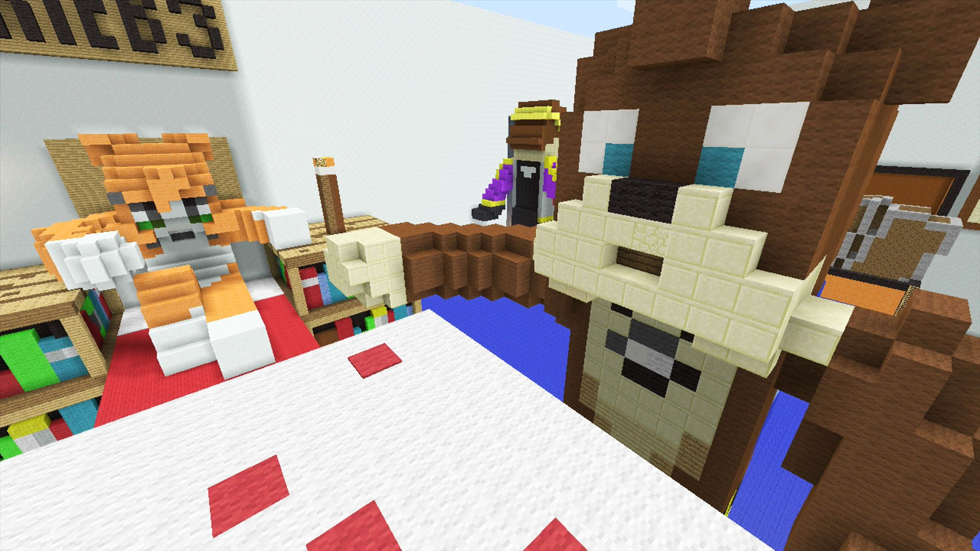 Minecraft Xbox   Stampys Bedroom   Hunger Games 1920x1080