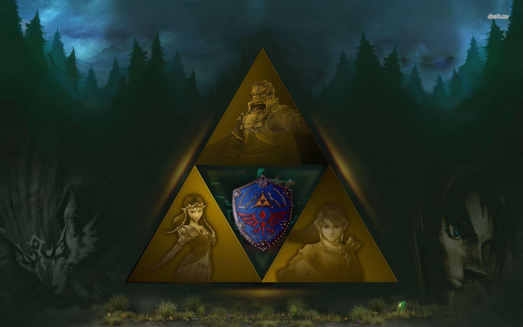 Triforce   The Legend of Zelda wallpaper   Game wallpapers   23021 1680x1050
