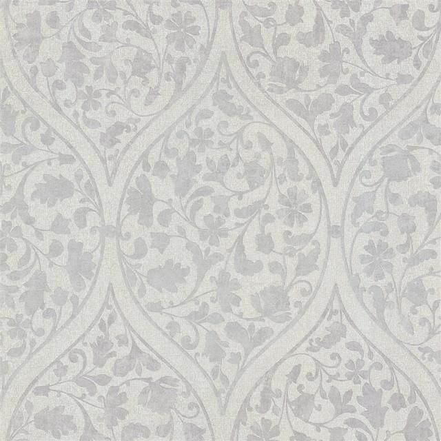 Metallic Moroccan Wallpaper Wallpapersafari