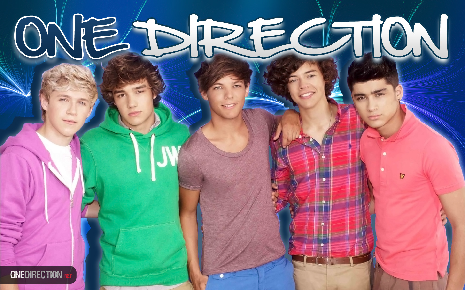 One Direction Wallpapers PC Mac iPho One Direction 1920x1200