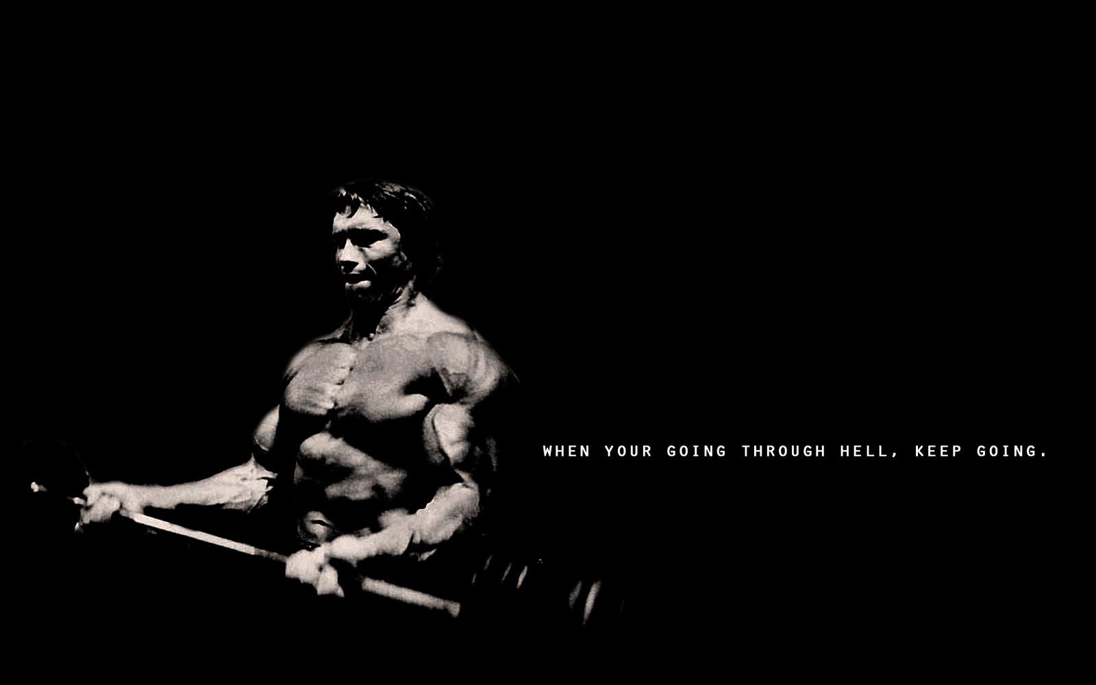 Beast Motivation Arnold Schwarzenegger Hell 1600x1000