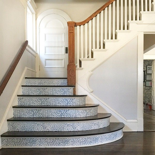 Wallpaper Stairs: Removable Wallpaper For Stair Risers