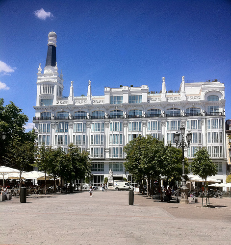 Downtown Santa Ana Wallpaper Plaza de santa ana madrid 471x500