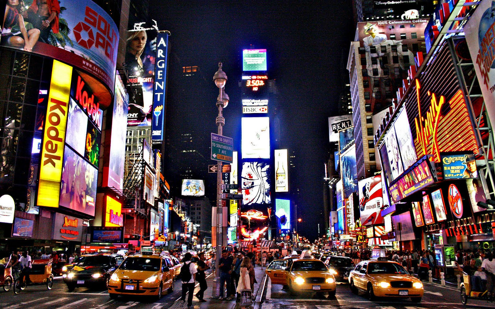 Download New York City Desktop Wallpaper 1600x1000