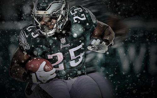 Lesean Mccoy Shady Snow Bowl Wallpaper Philadelphia Eagles By Jake 500x313