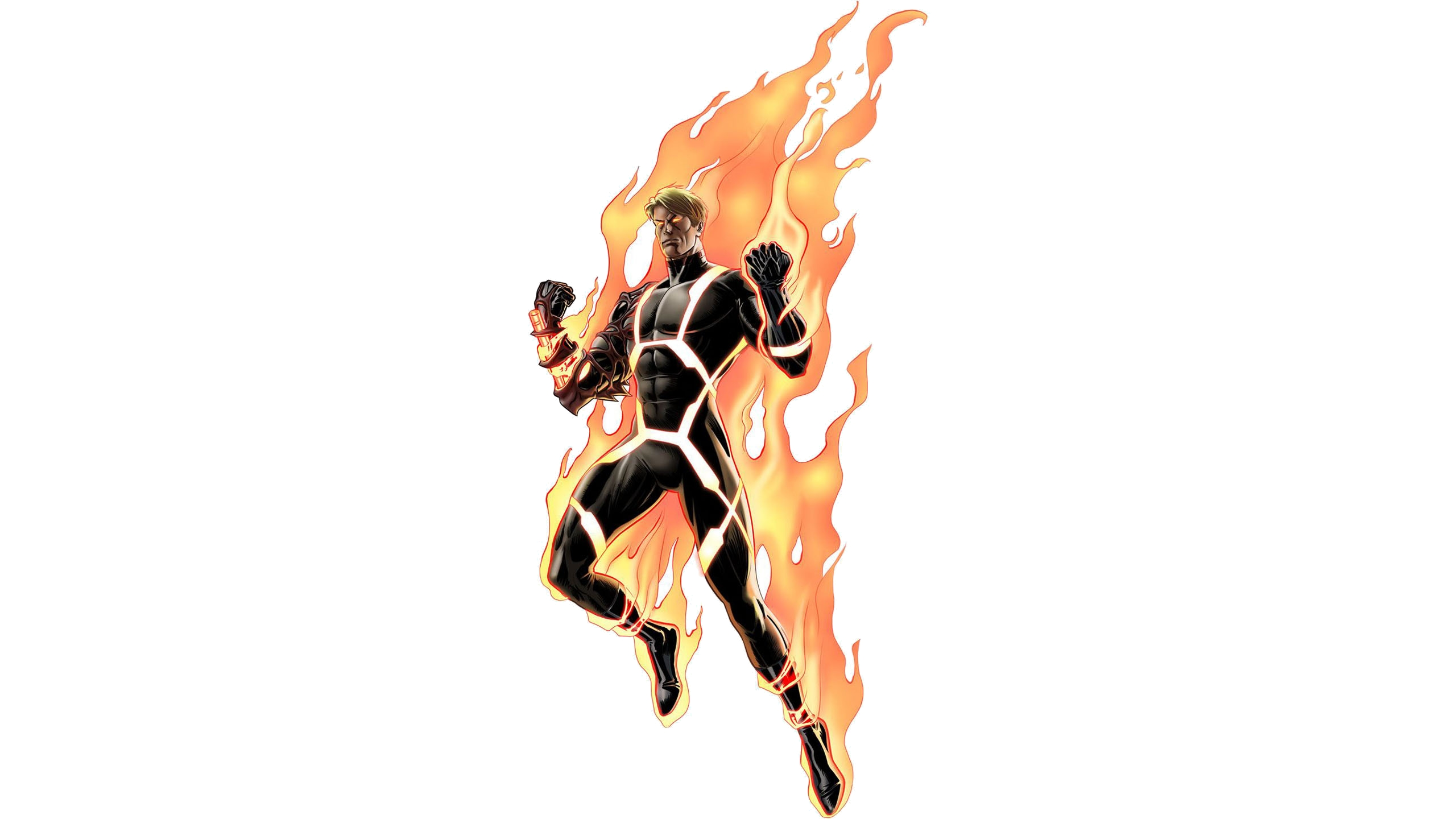 9 Human Torch HD Wallpapers Background Images 2560x1440