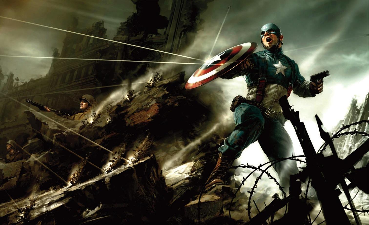 Captain America VS The Winter Soldier Wallpaper 1512x923