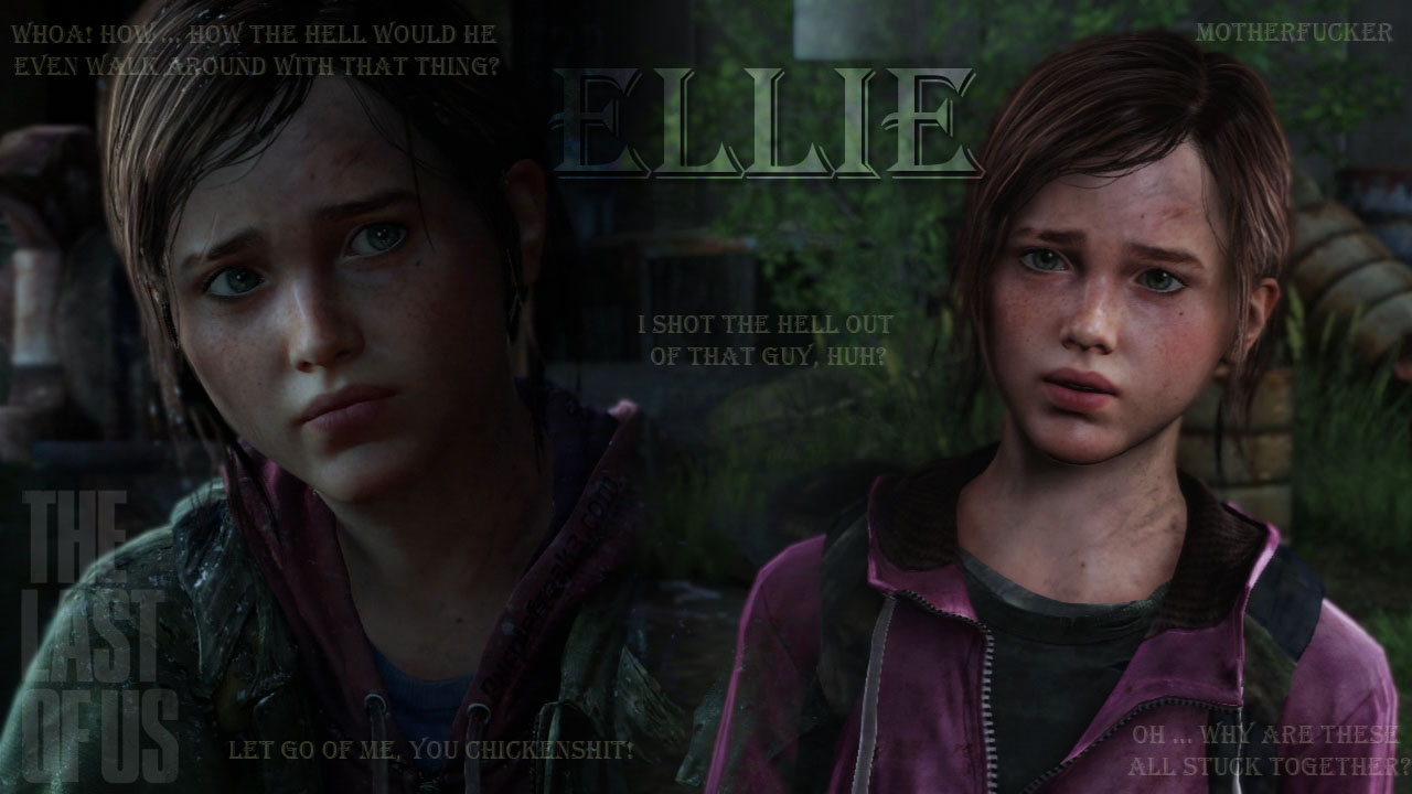 Free Download The Last Of Us Ellie Quotes Wallpaper 1280x720 For