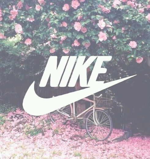 Nike wallpaper pink and flower   image 2837022 by Maria D on Favim 490x518
