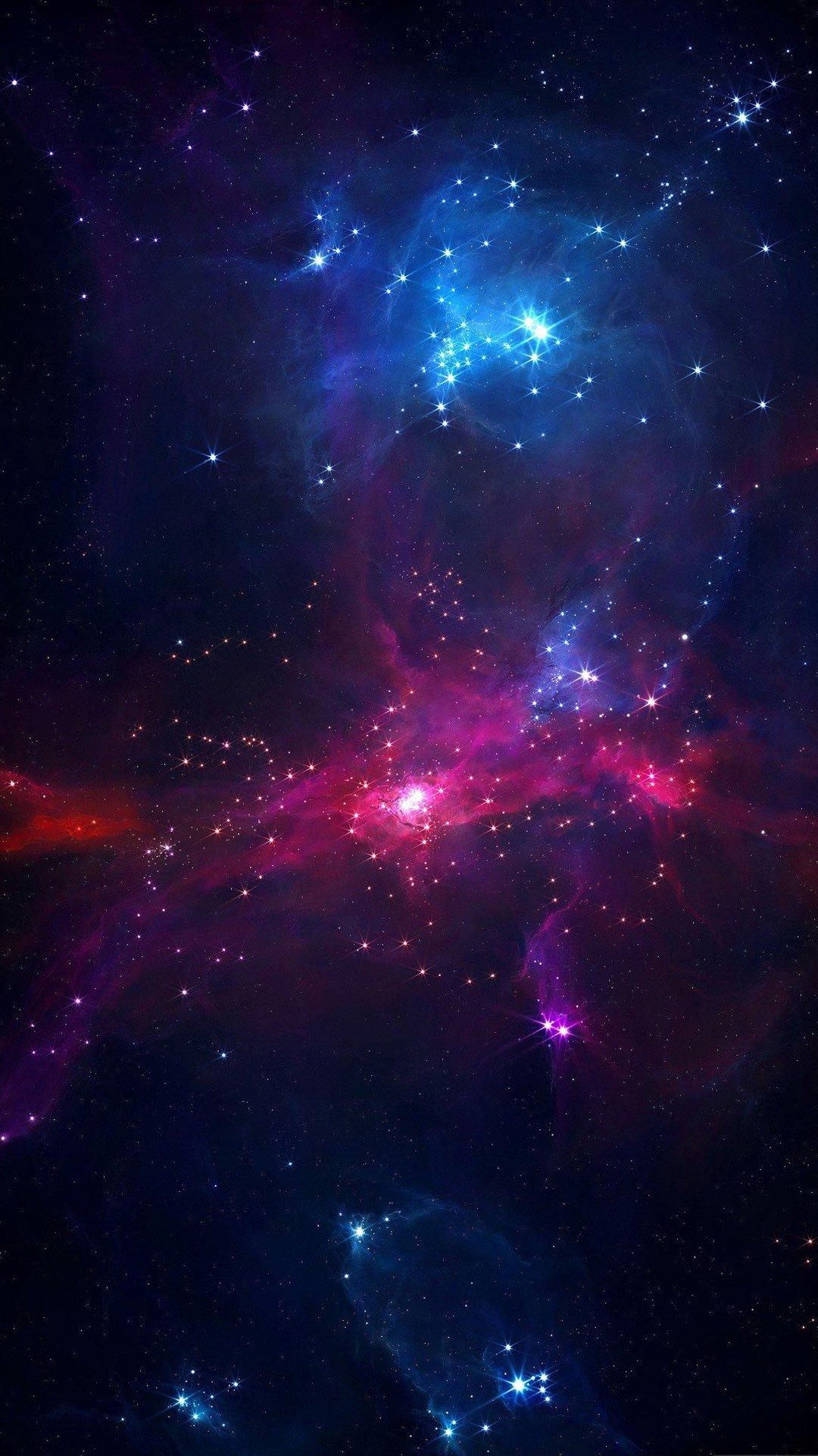 Beautiful galaxy lights Samsung HD wallpaper 1080x1920 1080x1920