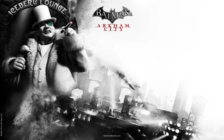 Batman Arkham City The Penguin 4K HD Desktop Wallpaper for 1440x900