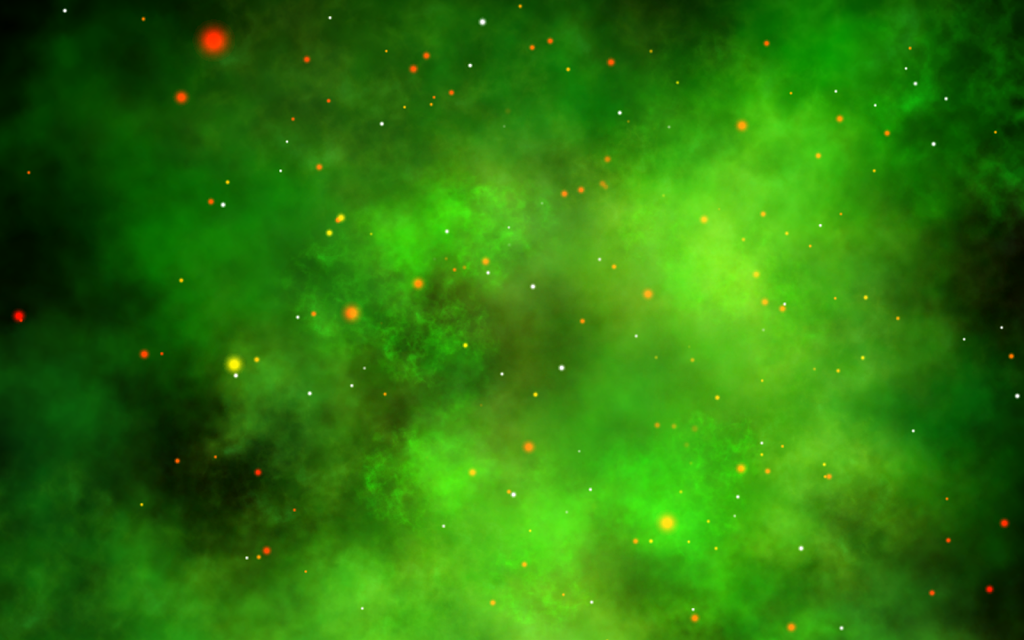 green high resolution nebula wallpaper - photo #26