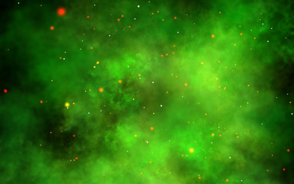 Green Nebula Wallpaper - WallpaperSafari