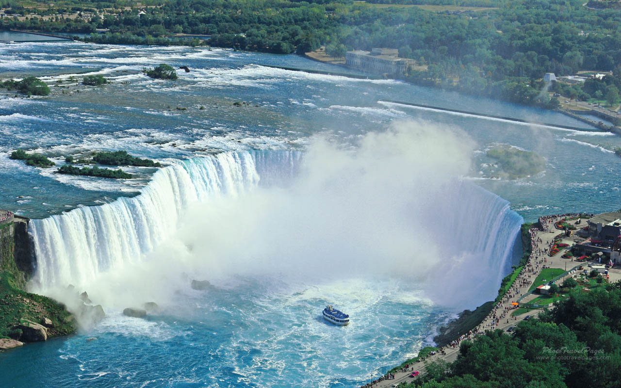 Awesome Niagara Falls HD Wallpaper Picture For Your PC Desktop 1280x800