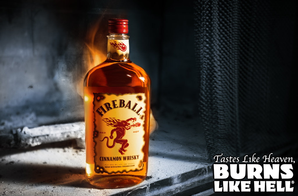 48] Fireball Whiskey Wallpaper on WallpaperSafari 1024x675