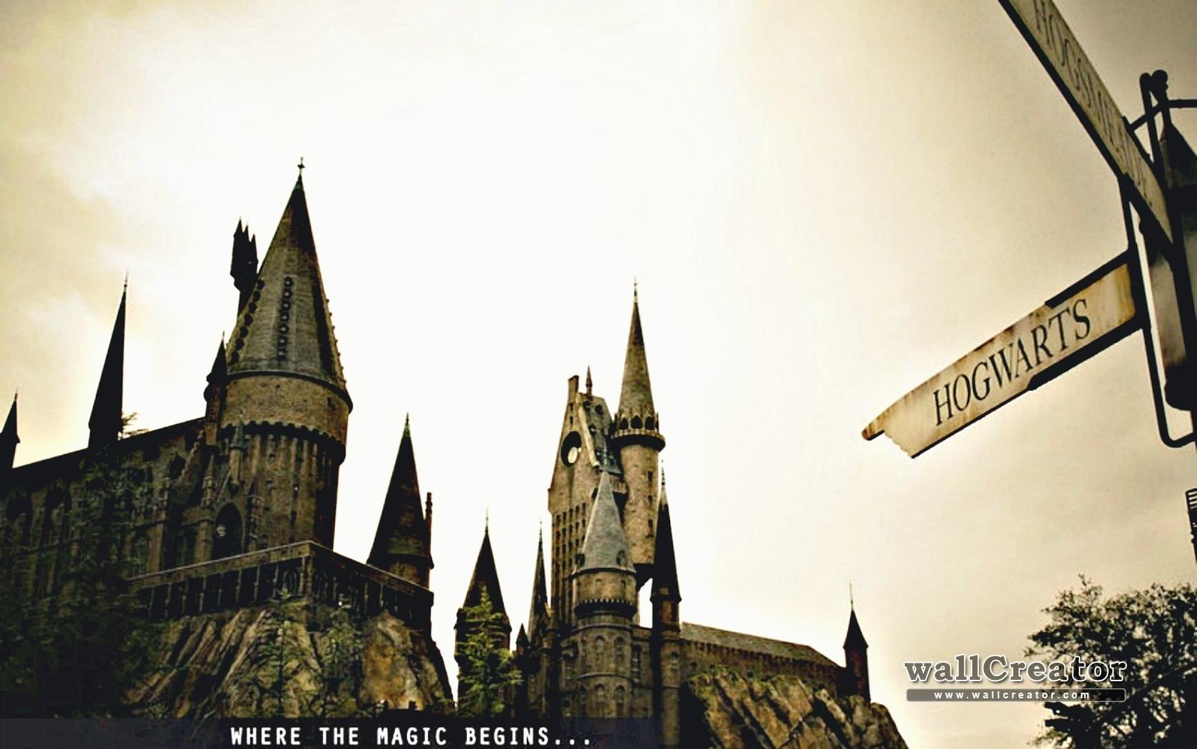 Harry Potter Desktop Background: Hogwarts Desktop Wallpaper