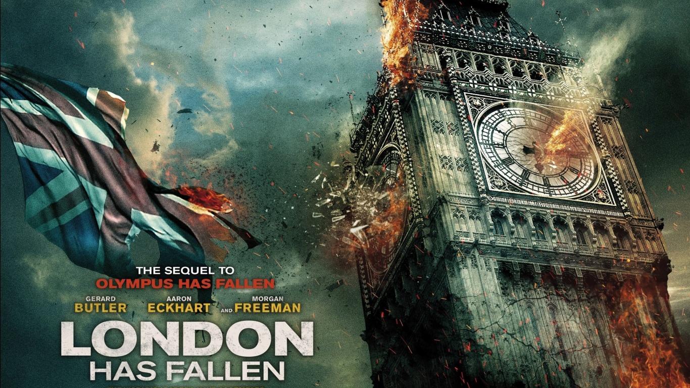 London Has Fallen 2015 Movie Wallpapers HD Wallpapers 1366x768