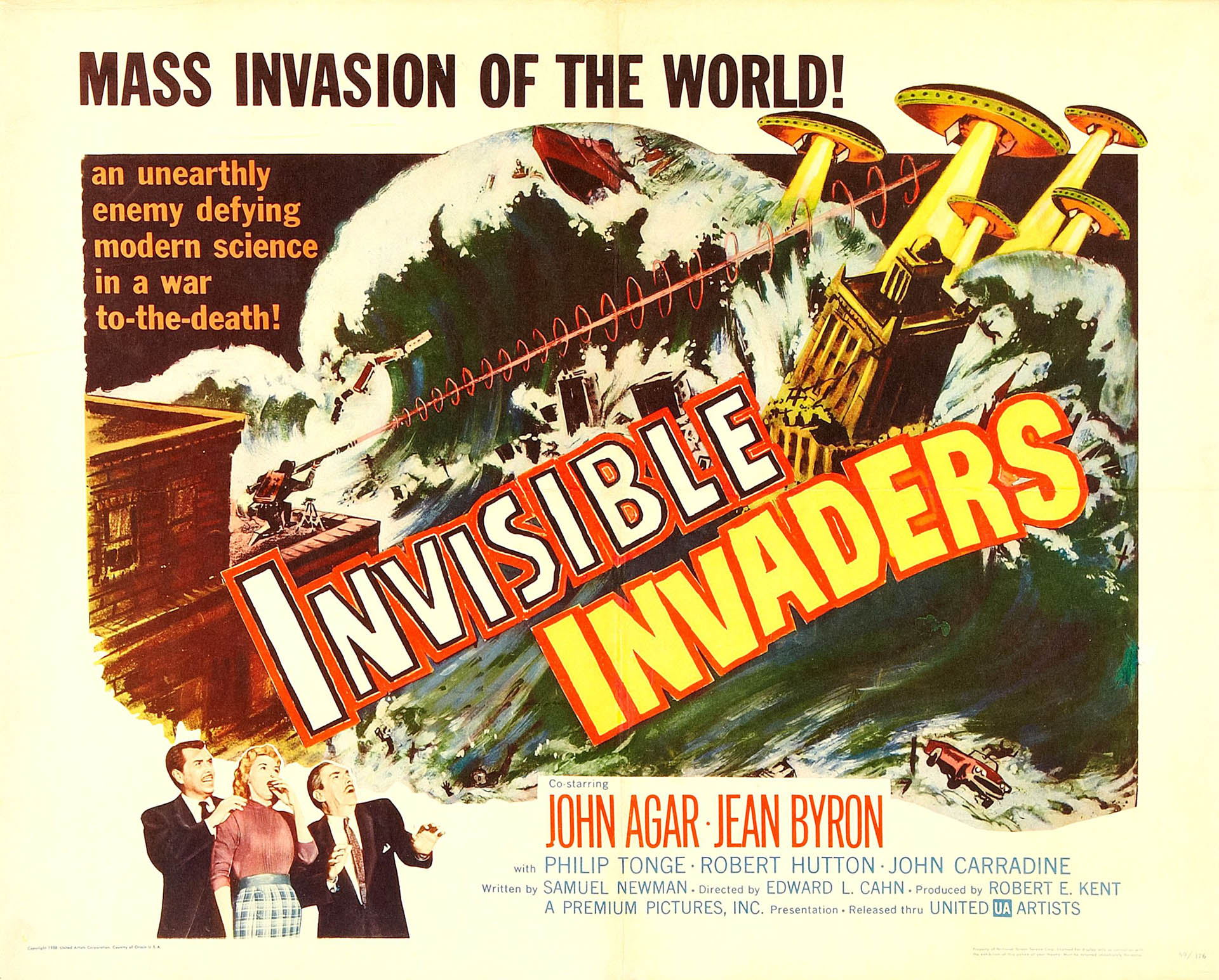 Invisible Invaders   Alien Invasion B Movie Posters 1920x1544